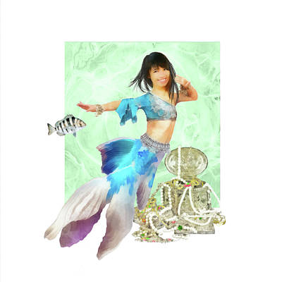 Digital Art - Thai Mermaid by Francesa Miller