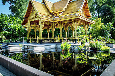 Photograph - Thai Pavilion by Deborah Klubertanz
