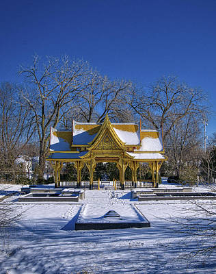 Photograph - Thai Pavillion - Madison - Wisconsin V by Steven Ralser