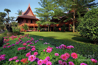Holiday Home Parks Photograph - Thai Style House  by Buchachon Petthanya