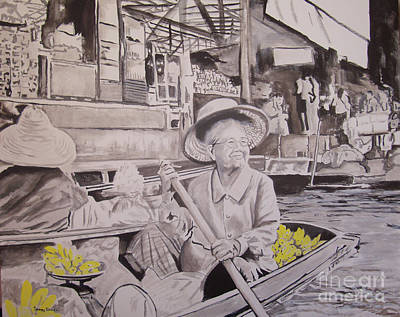 Painting - Thai Sunshine by Stuart Engel