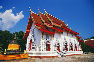Thailand, Wat Doi Tung Art Print by Bill Brennan - Printscapes