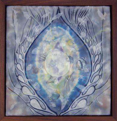 Thalassa Goddess Of The Sea Art Print by Elizabeth Comay