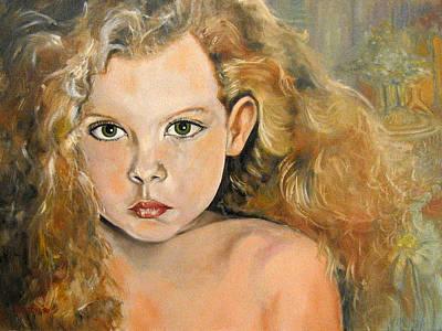 Thamara Nora Art Print by John Keaton
