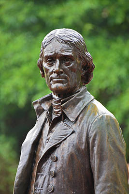 Photograph - Thomas Jefferson by Mike Martin