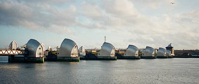 Photograph - Thames Barrier by Dorothy Berry-Lound