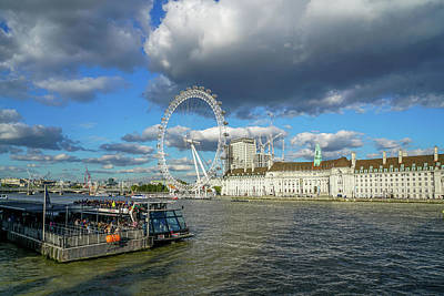 Europe Wall Art - Photograph - Thames River by Ric Schafer