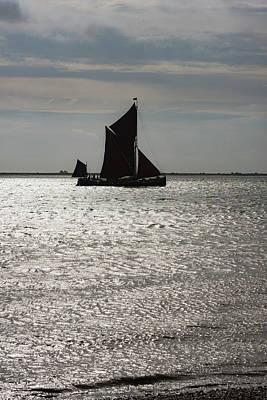 Photograph - Thames Sailing Barge Centaur by Gary Eason
