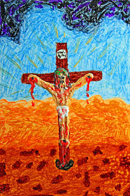 Thank God For Good Friday 1 Original by Carl Deaville