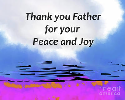 Digital Art - Thank You Father by Kirt Tisdale
