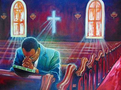 Painting - thank you GOD by Emery Franklin