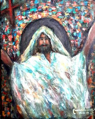 Painting - Thank You God by Wanvisa Klawklean