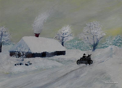 Painting - Thank You Monet by Dick Bourgault