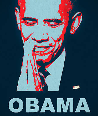 Thank You President Obama Art Print by Dan Sproul