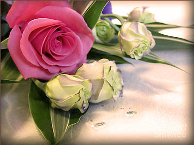 Photograph - Thank You Rose Bouquet  by Eena Bo