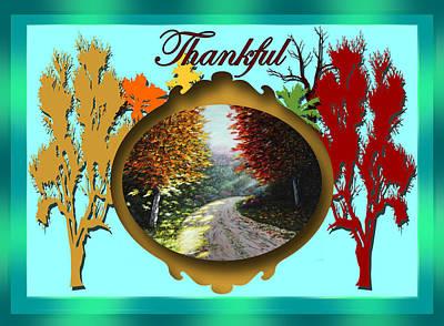 Painting - Thankful by Saeed Hojjati