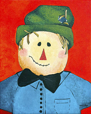 Painting - Thankful Theodore by Wendy May
