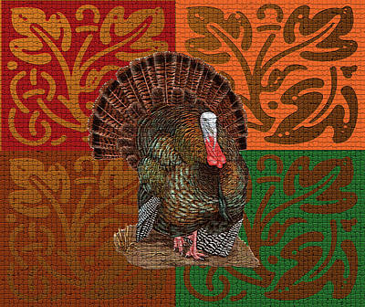 Photograph - Thankgiving Card by Donna Greene