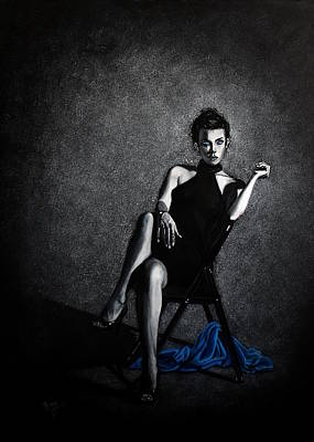 Christina Aguilera Painting - Thanks For Making Me Stronger by Maren Jeskanen