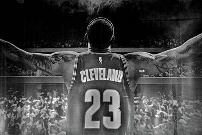 Lebron Photograph - Thanks Lebron by Frozen in Time Fine Art Photography