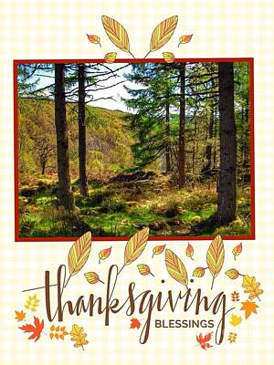Photograph - Thanksgiving Blessings by Joan-Violet Stretch