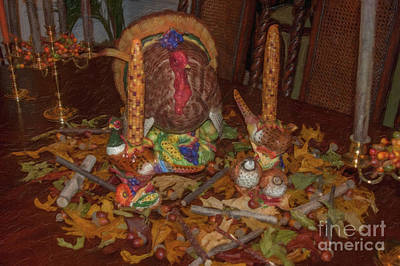 Photograph - Thanksgiving Celebration by Dale Powell