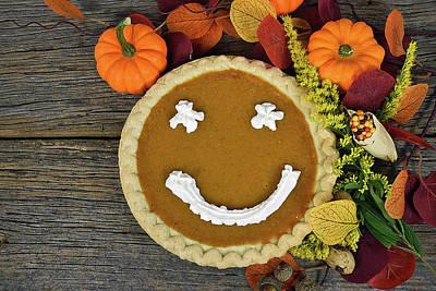 Thanksgiving Happy Pie Art Print