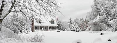 Photograph - Thanksgiving In White by Georgia Hamlin