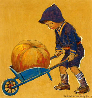 Painting - Thanksgiving by Jessie Willcox Smith