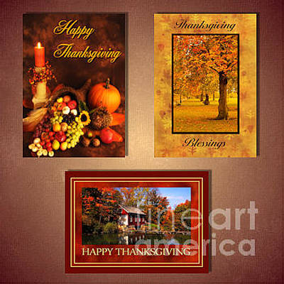 Digital Art - Thanksgiving by JH Designs