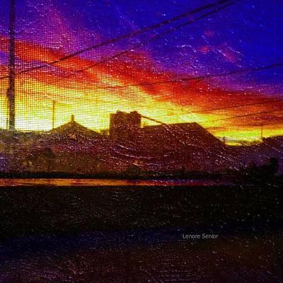 Digital Art - Thanksgiving Morning by Lenore Senior