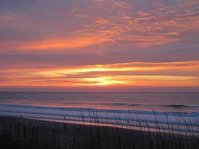 Photograph - Thanksgiving Sunrise by Betty Buller Whitehead