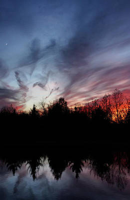 Photograph - Thanksgiving Sunset by Darlene Kwiatkowski