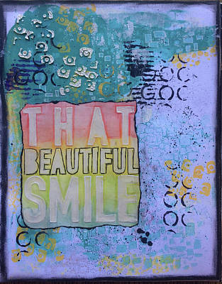 Painting - That Beautiful Smile by Kv
