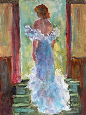 Painting - That Dress by Jill Musser