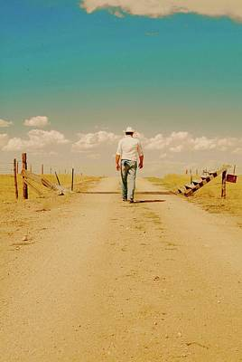 Photograph - That Dusty Road by Amanda Smith