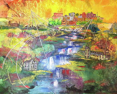 Painting - That Greenville by Edith Hardaway