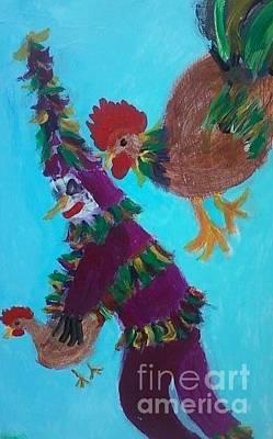 Folk Art Painting - That Chick Is Mine by Seaux-N-Seau Soileau