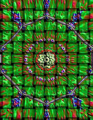 That Kaleidoscope Place II Art Print