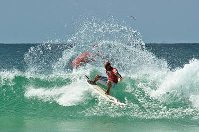 Kelly Slater Photograph - That Kelly Slater Wave Magic by Odille Esmonde-Morgan