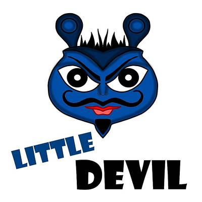 Digital Art - That Little Devil by Pratyasha Nithin