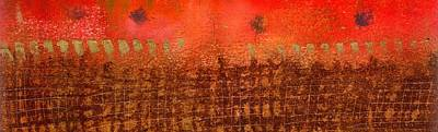 That Long Brown Fence Dividing You And Me Print by Angela L Walker