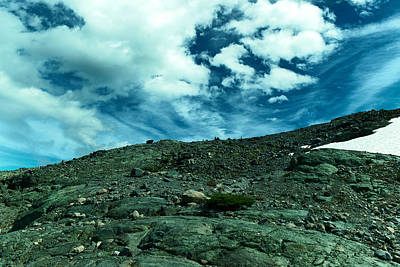 Clouds Photograph - That Long Slow Beautiful Climb by Jeff Swan