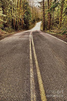 Photograph - That Long Winding Road  by Jeff Swan