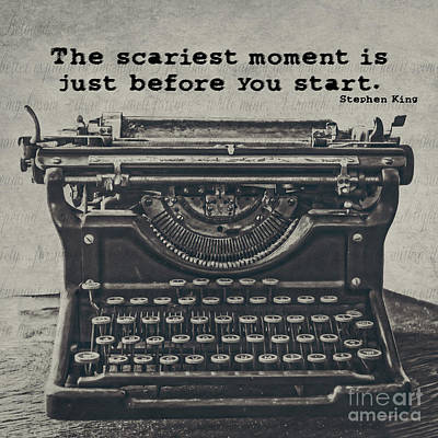 Typewriter Photograph - That Moment by Emily Kay