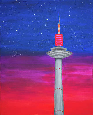 Painting - That Night In Frankfurt by Iryna Goodall