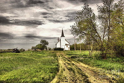 Photograph - That Old Dirt Road To Salvation by Jeff Swan