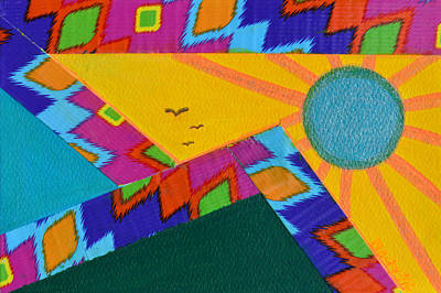 Painting - That Santa Fe Feeling by Donna Blackhall