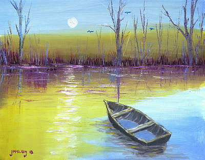 Painting - That Sinking Feeling by Jerry McElroy