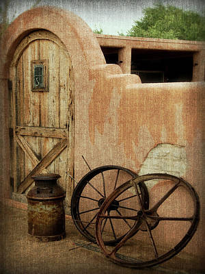 Photograph - The Western Style by Lucinda Walter